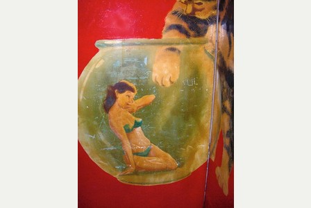 the girl in the goldfish bowl