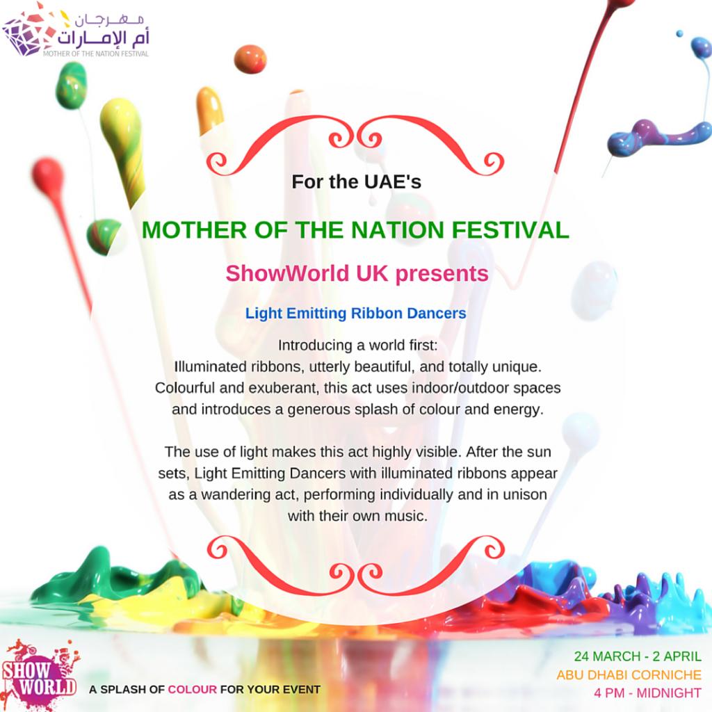 Mother-of-the-nation-festival-showworld-light-emitting-ribbon-dancers