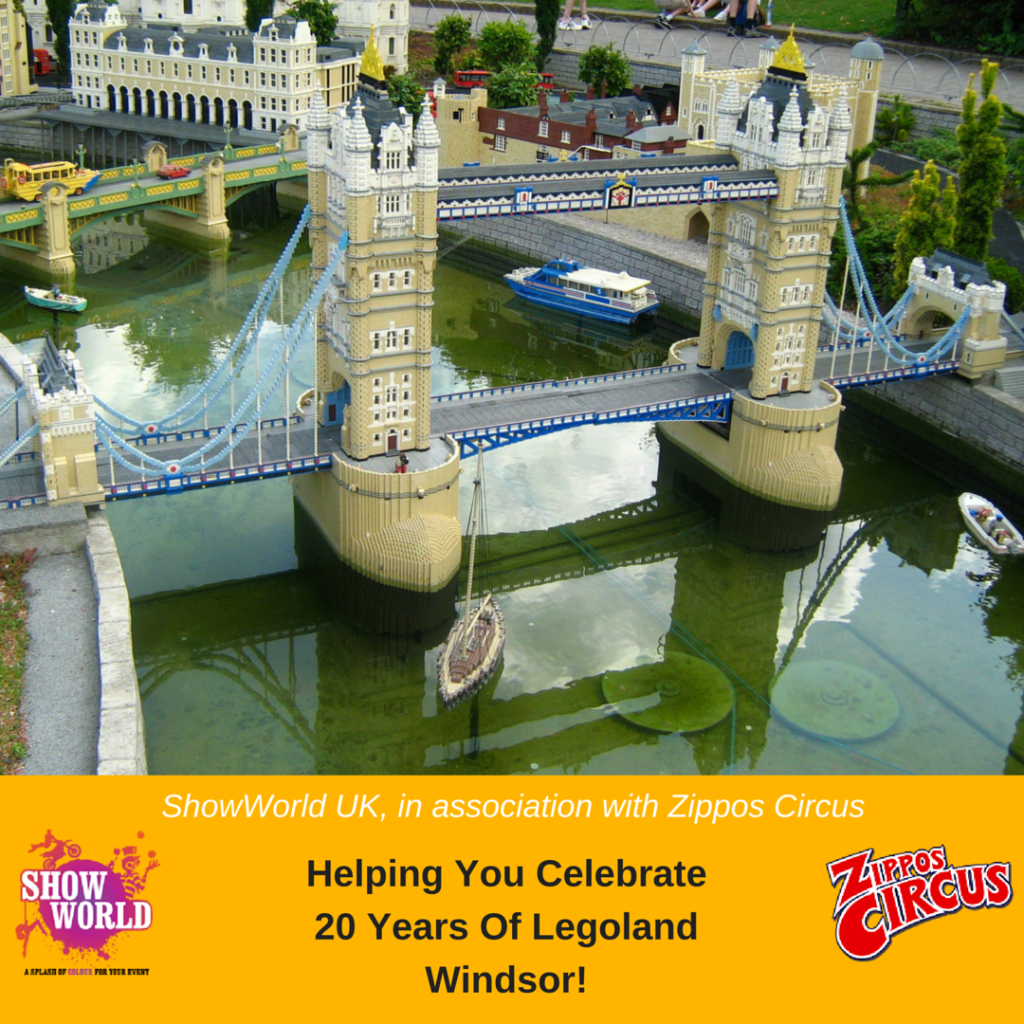 20th Birthday London: Celebrating 20 Years Of LEGOLAND Windsor