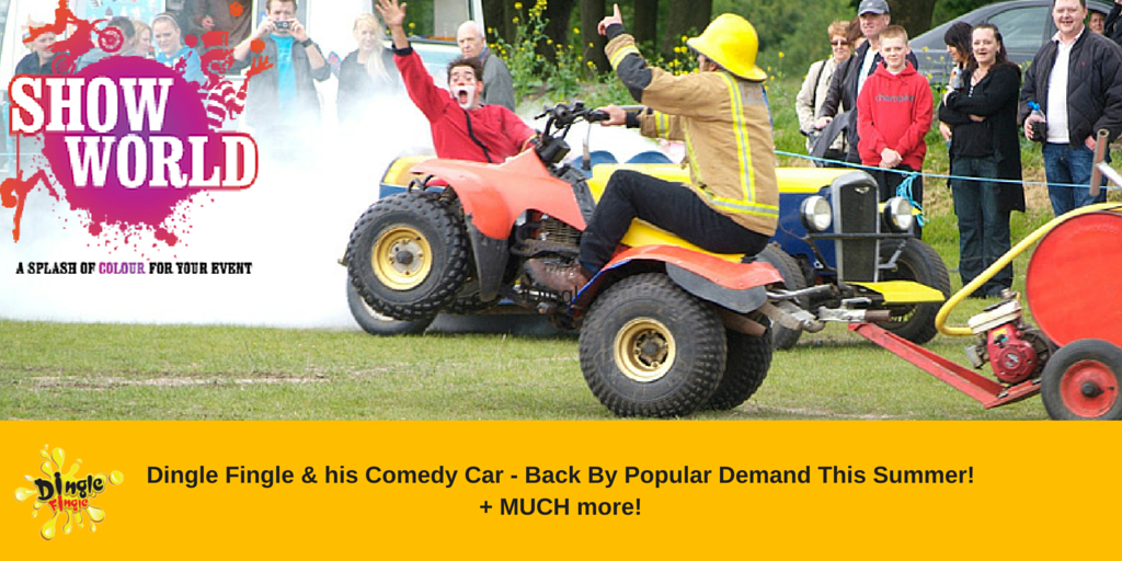 Dingle Fingle & his Comedy Car - Back By Popular Demand